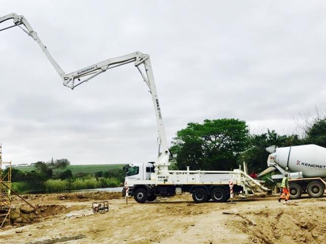 N2 Mtunzini Road Upgrade - Proudly working together with Murray & Roberts Infrastructure (Concor). Concrete for this contract is supplied from our Zululand Batch Plant